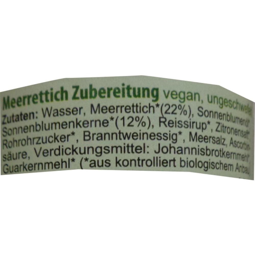 Saane Meerrettich Vitam, laktosefreier Sahne Meerrettich Vitam ...