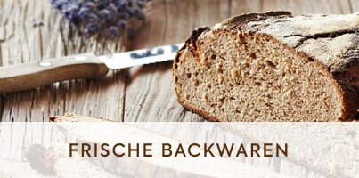 Backwaren frisch