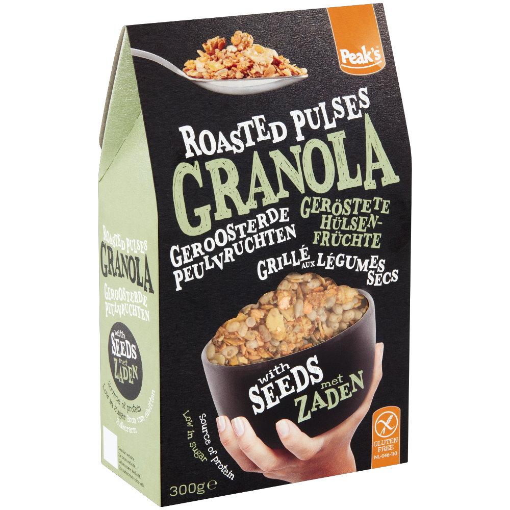Granola mit Hülsenfrüchten