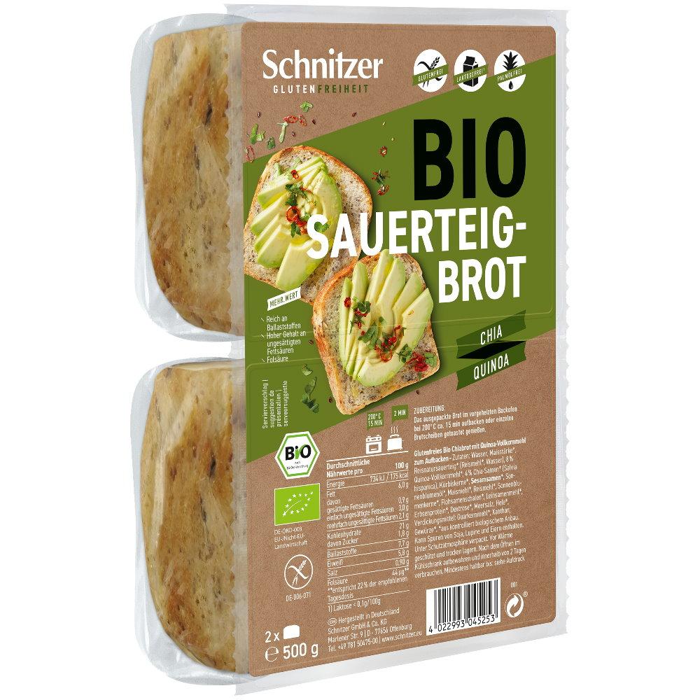 Bio Brot mit Chia & Quinoa