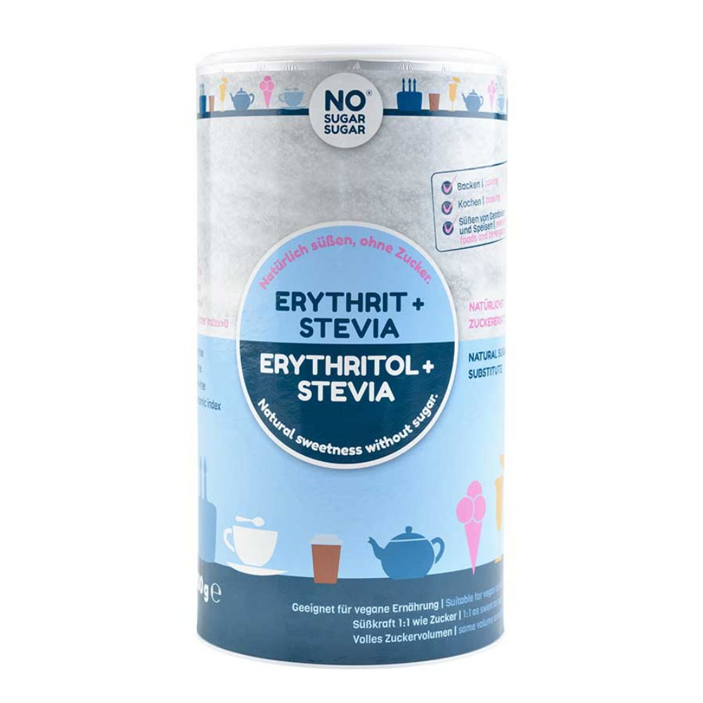Erythrit-Stevia Vorratsdose