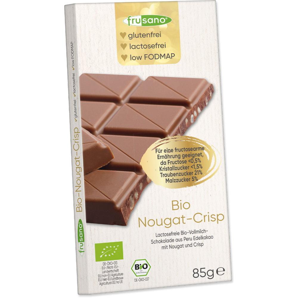 Bio Nougat Crisp Schokolade