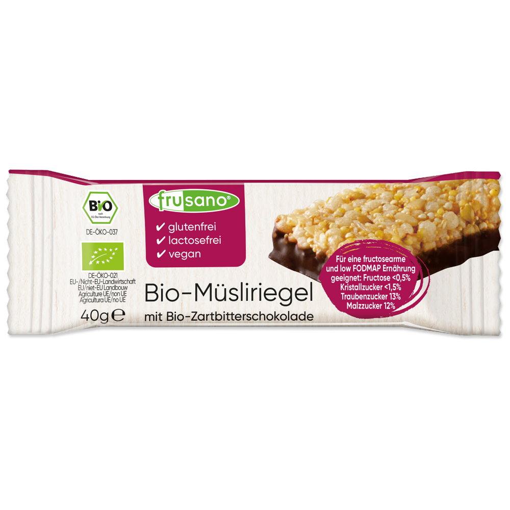 Fructosefreien Bio Fili Musliriegel Von Frusano Bei Foodoase De