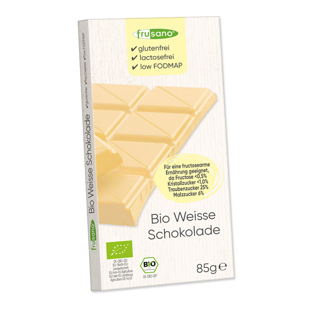 Bio Weiße Schokolade mit Kakaonibs