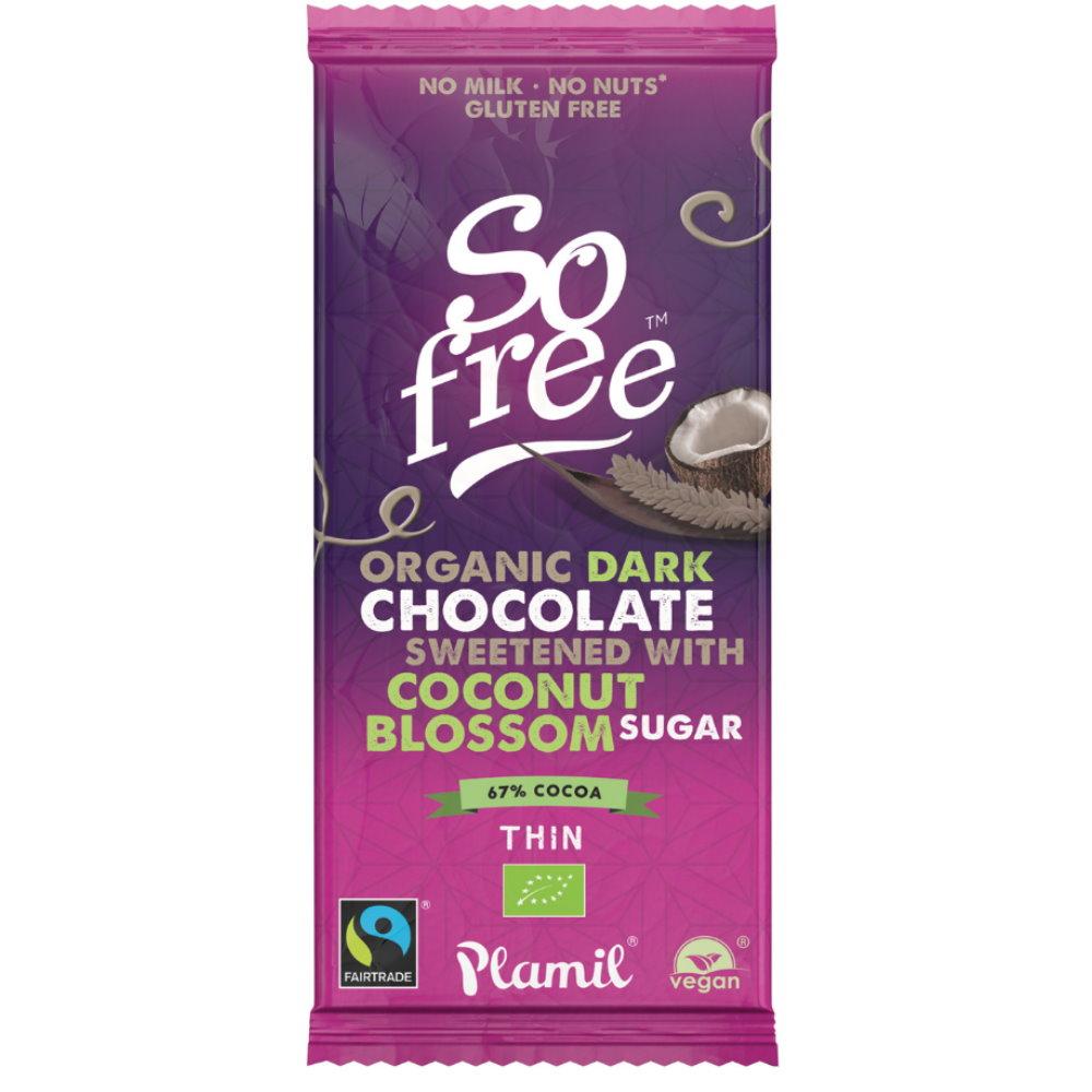 laktosefreie bio schokolade mit kokosbl tenzucker plamil schokolade bei foodoase. Black Bedroom Furniture Sets. Home Design Ideas