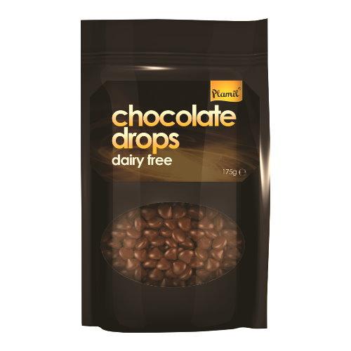 laktosefreie schokoladen drops plamil chocolate drops foodoase. Black Bedroom Furniture Sets. Home Design Ideas