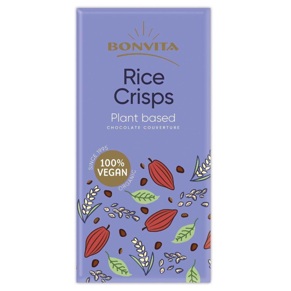 Bio Kakao Tafel mit Reiscrisps