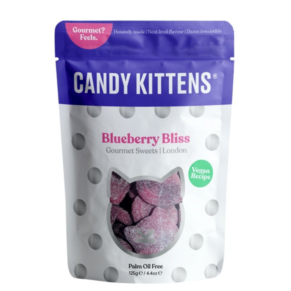 Candy Kittens - Fruchtgummi Blaubeere