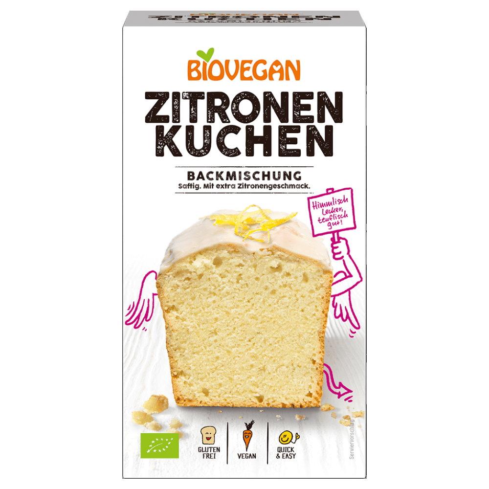 Glutenfreie Bio Zitronenkuchen Backmischung Bio Vegan Glutenfreie