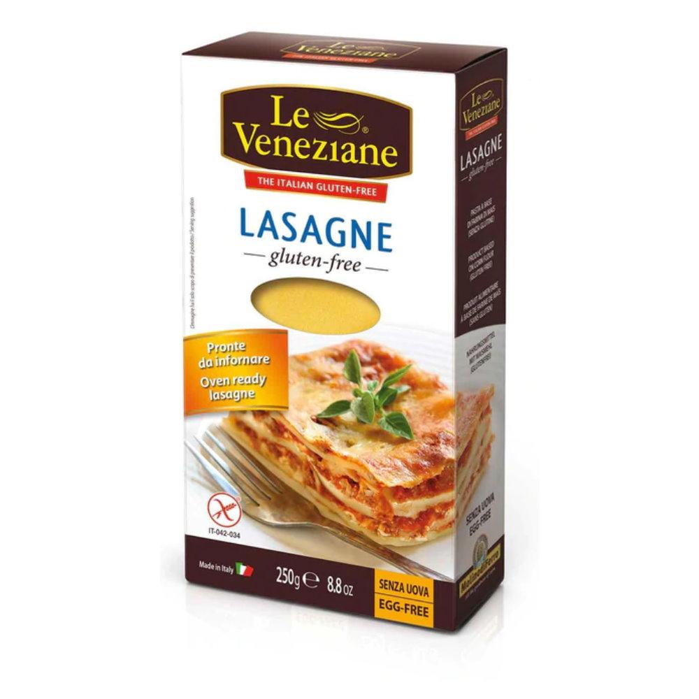 Reis und Mais Lasagne Platten