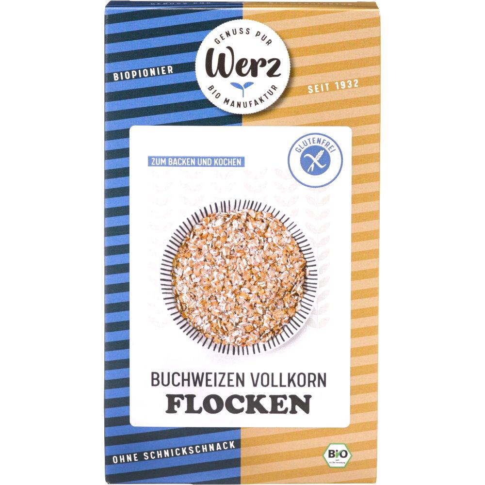 Bio Buchweizen-Vollkorn-Flocken