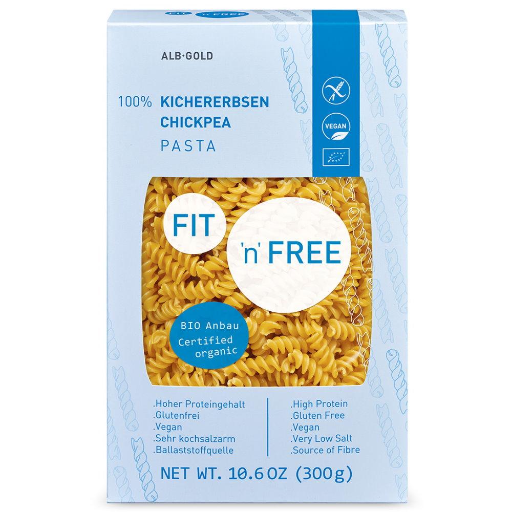 FIT'n'Free Bio Kichererbsen Pasta