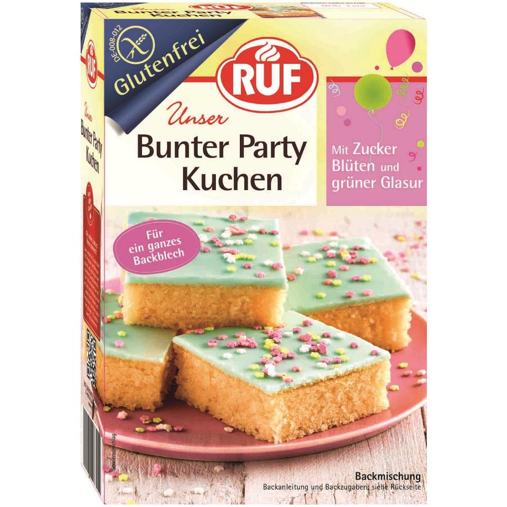 Glutenfreie Backmischung Fur Party Kuchen Von Ruf Foodoase De