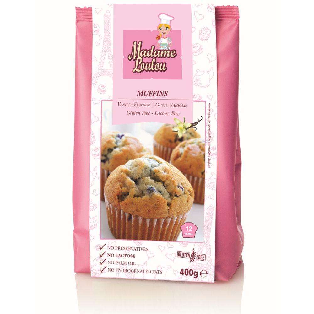 glutenfreie backmischung f r muffins vanilla madame loulou glutenfreier muffin mix vanilla. Black Bedroom Furniture Sets. Home Design Ideas