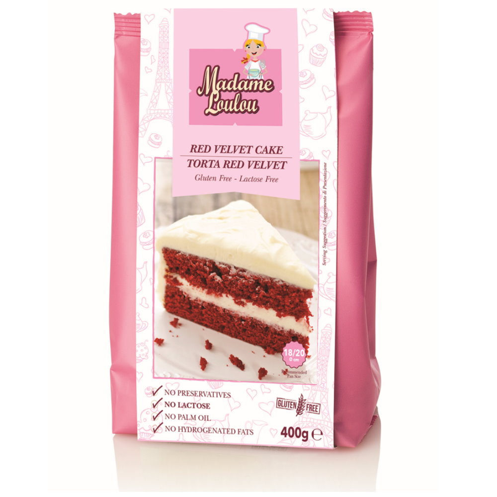 Glutenfreie Backmischung Fur Red Velvet Kuchen Madame Loulou Red