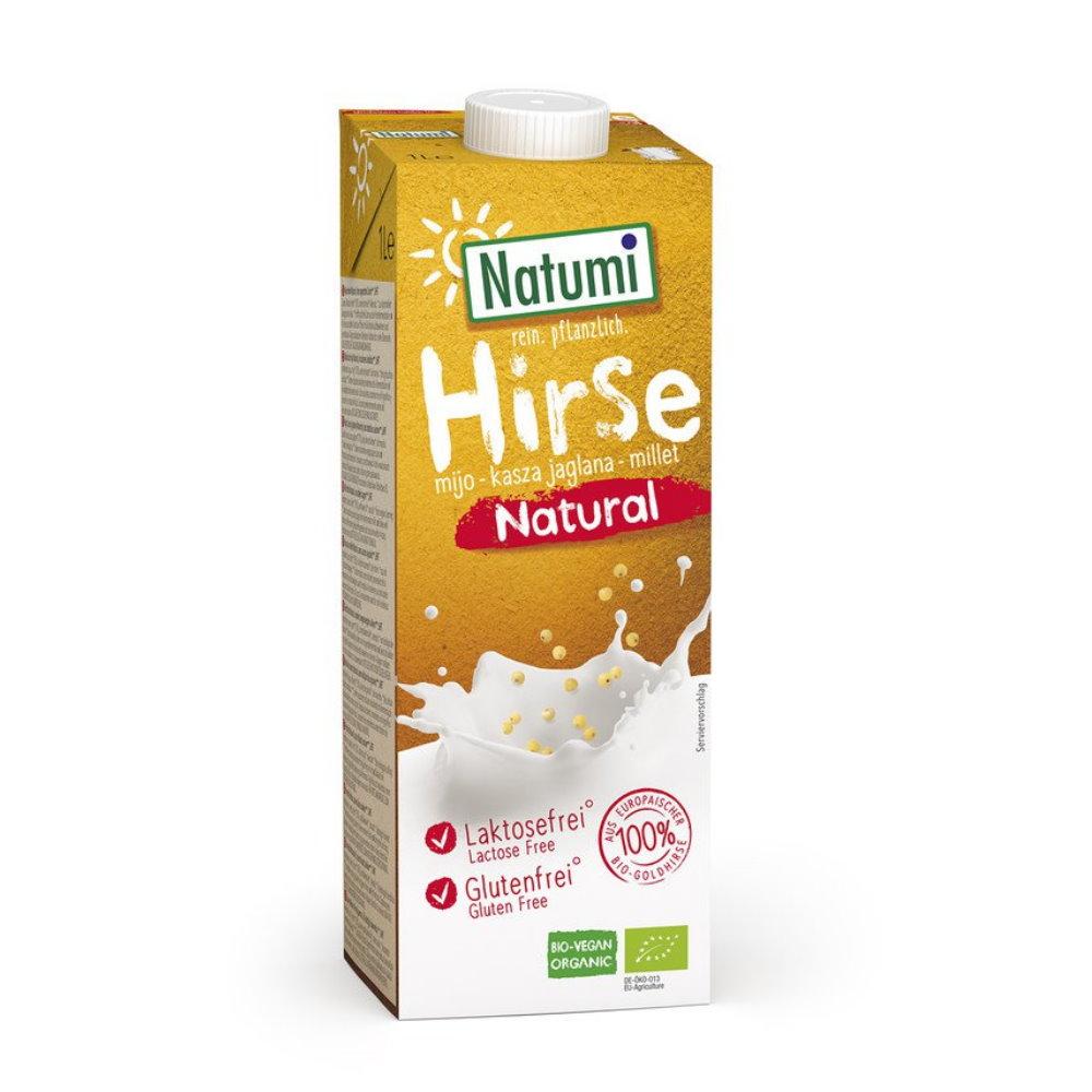laktosefreier Bio Hirse Drink natural, Natumi, Milchersatz und ...
