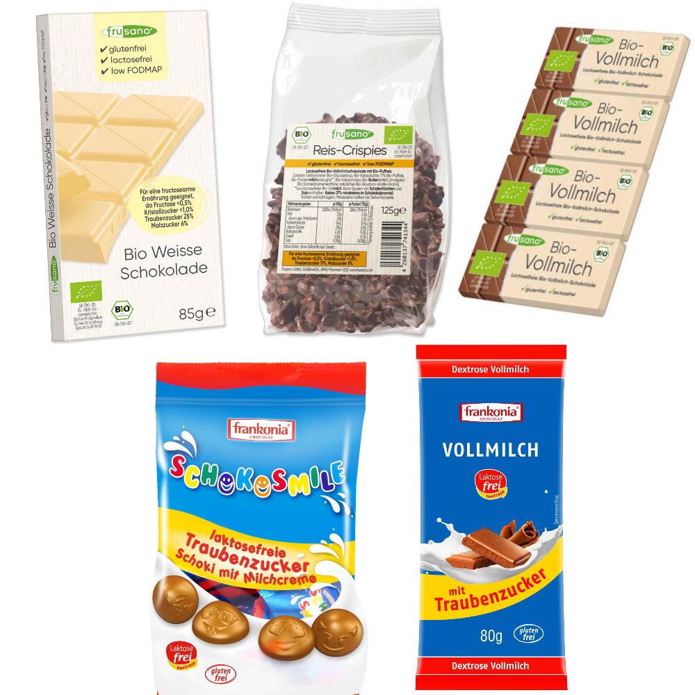 Schoko-Probierpaket fructosearm
