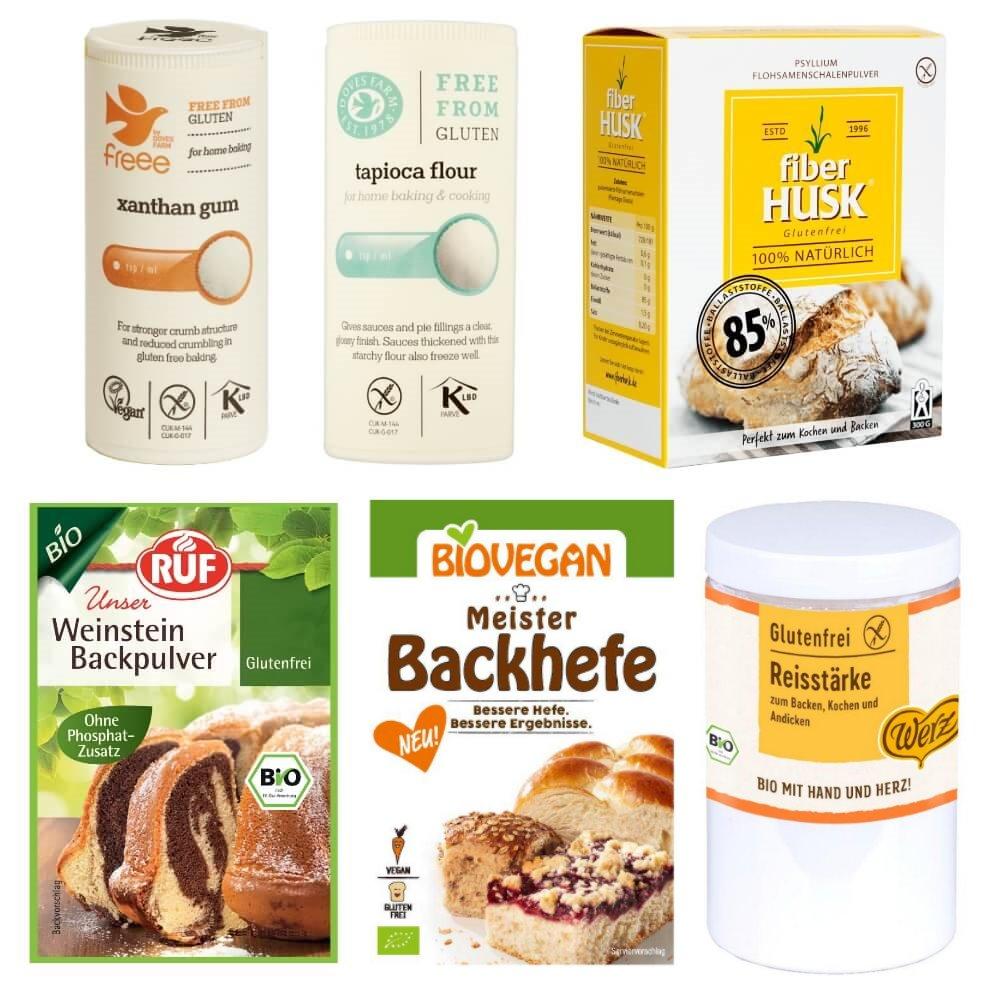 Glutenfreies Backhelfer Must-Have Paket