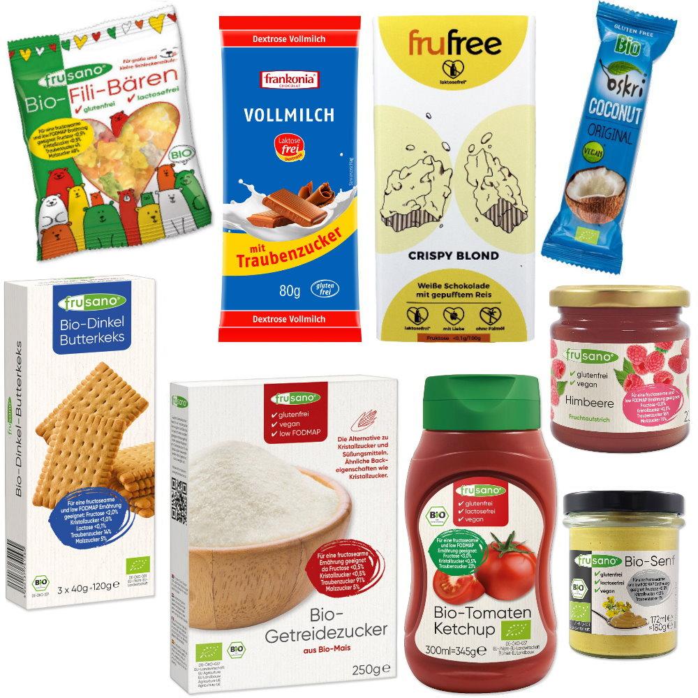 236b6df3650a1d Starterpaket fructosearme Lebensmittel online bei FoodOase.de ...