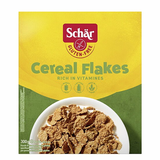 Cereal Flakes - Glutenfreie Reis Mais Flocken 300g