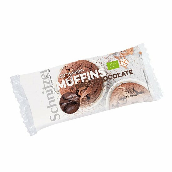 Bio Muffin + Dark Chocolate 2x70g