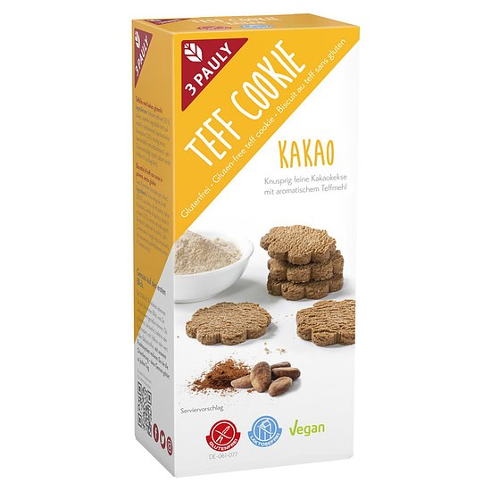 Teff Cookie Kakao 125g