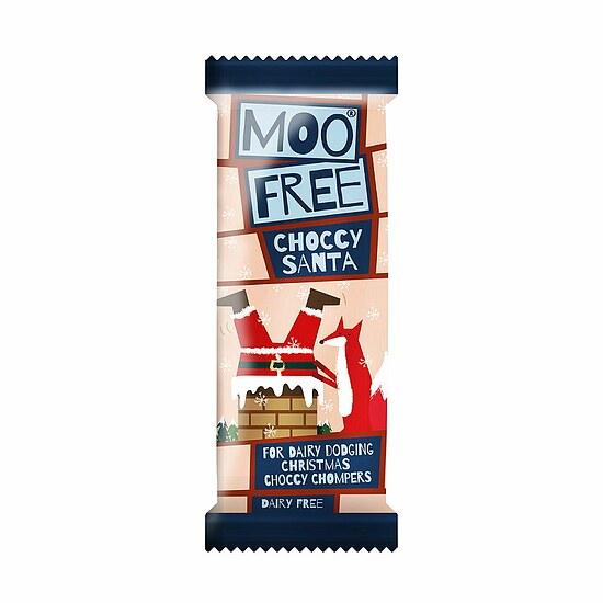 laktosefreie schoko weihnachtsmann von moo free moo free. Black Bedroom Furniture Sets. Home Design Ideas