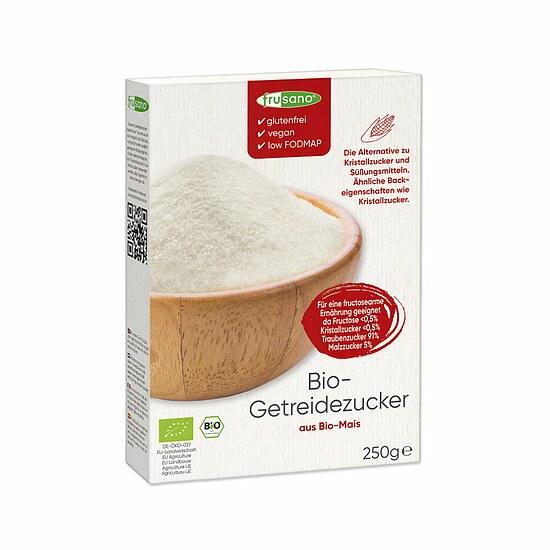 fructosearmer bio getreidezucker von frusano getreide zucker fructosearm online in der foodoase. Black Bedroom Furniture Sets. Home Design Ideas