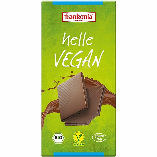Bio Helle - Alternative zu Vollmilchschokolade vegan 100g