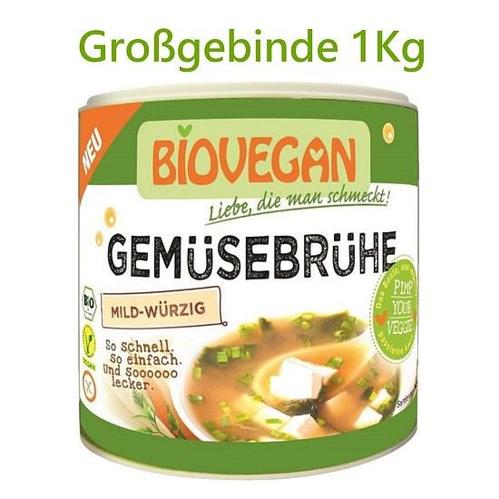 Sojafreie Bio Gemüsebrühe