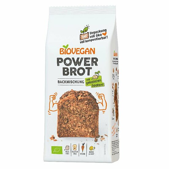 Bio Brotbackmischung Power 350g