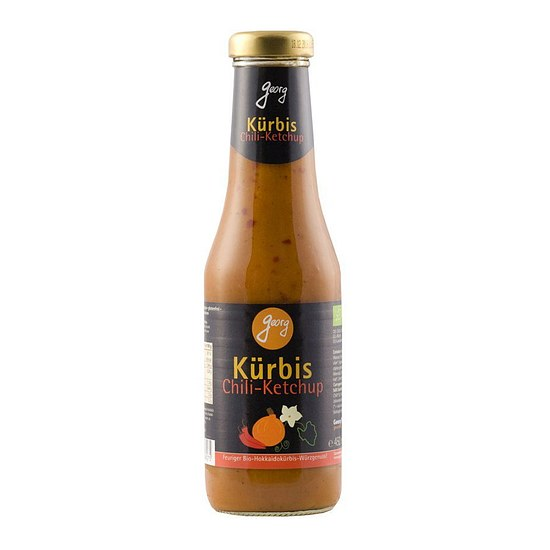 Bio Kürbisketchup Chili 450ml
