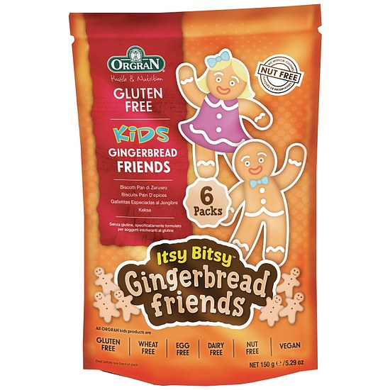 Itsy Bitsy Gingerbread Friends - Lebkuchenkekse 150g