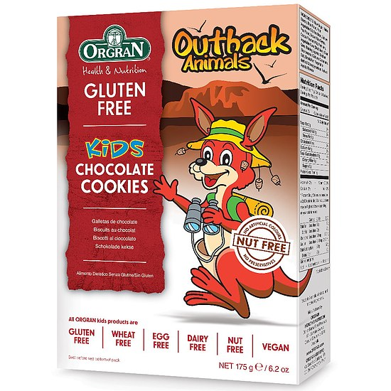 Outback Animals Cookies Schoko 175g