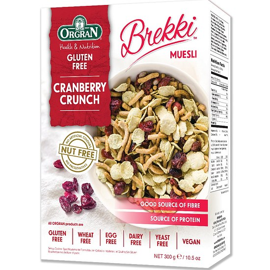 Cranberry Crunch Müsli 300g