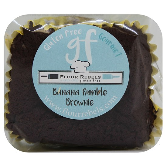 Frischer Banana Rumble Brownie 60g