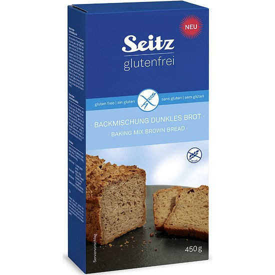 Backmischung dunkles Brot 450g