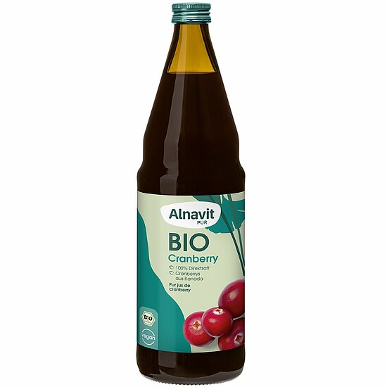 Bio Cranberry Saft 330ml (Muttersaft)