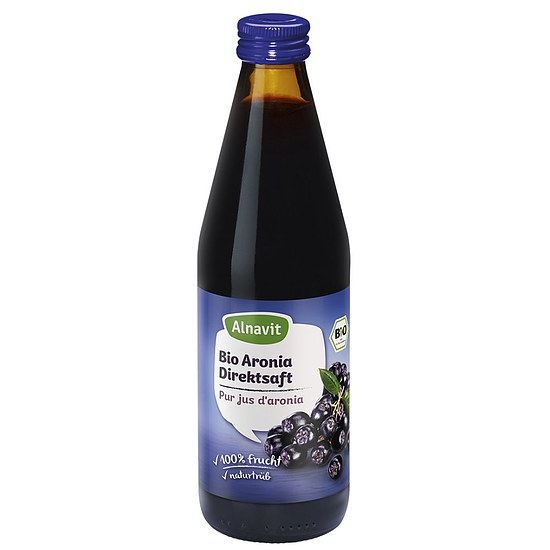 Bio Aronia Saft 330ml (Muttersaft)