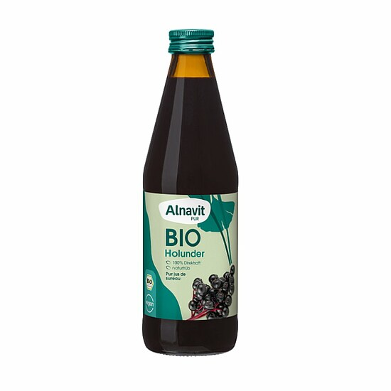 Bio Holunder Saft 330ml (Muttersaft)