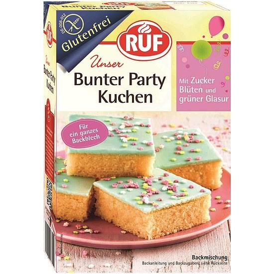 Backmischung Bunter Party Kuchen