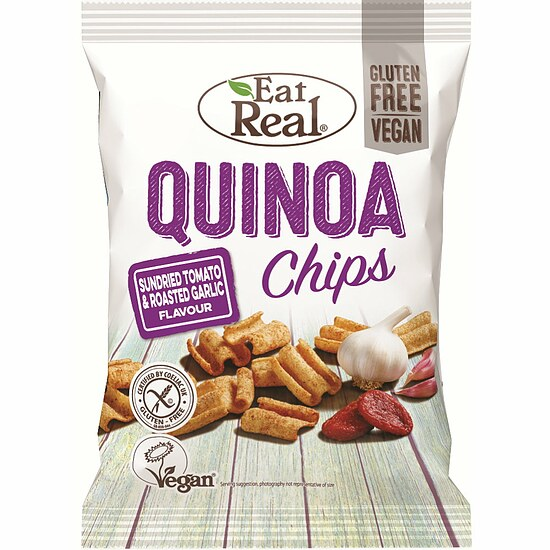 Quinoa Chips Tomate & Knoblauch 80g
