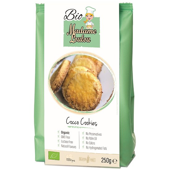 Bio Coconut Cookies Mix 250g