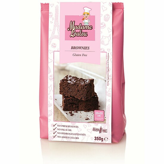 Mix für Brownies 350g