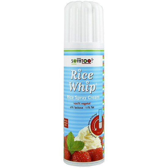 Rice Whip Spray Cream - Reis-Sprühcreme 250g