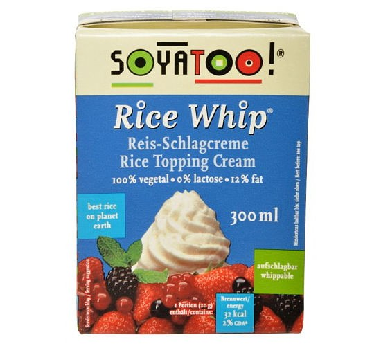 Rice Whip Reis-Schlagcreme 300ml