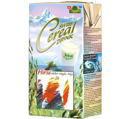Bio Swiss Cereal Drink Hirse 1L