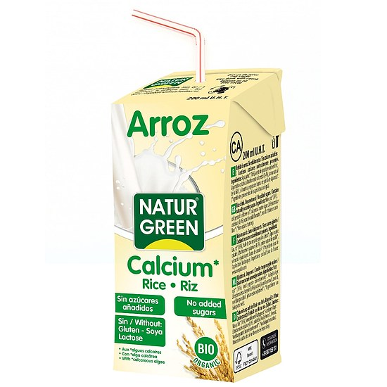 Bio Reisdrink mit Calcium 200ml