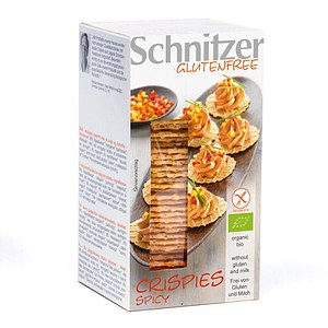 Bio Crispies Spicy oder Nature 60g