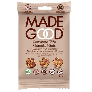 Bio Chocolate Chip Müsli Minis 24g